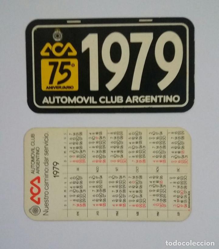 Calendario Del 1979.Calendario De Bolsillo Del Automovil Club Argentino 1979