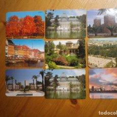 Coleccionismo Calendarios: 9 CALENDARIOS PAISES DE CIUDAD . Lote 72447815