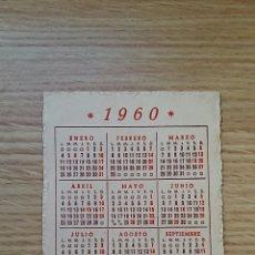 Coleccionismo Calendarios: CALENDARIO DE BOLSILLO DE 1960. PUBLICIDAD GRAN SASTRERIA ECLESIASTICA JAULENT BARCELONA. Lote 72684739