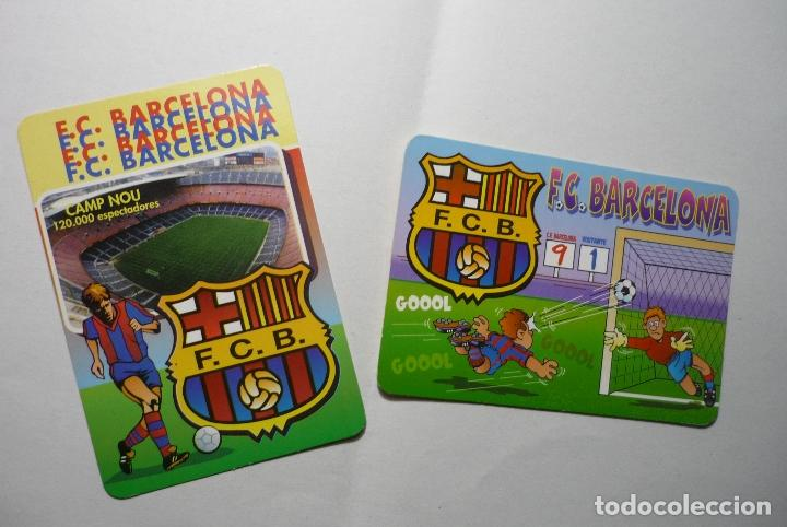 LOTE CALENDARIOS FUTBOL BARCELONA FC .-1998-2003 (Coleccionismo - Calendarios)
