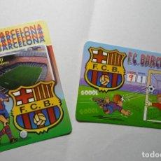 Coleccionismo Calendarios: LOTE CALENDARIOS FUTBOL BARCELONA FC .-1998-2003. Lote 72829167
