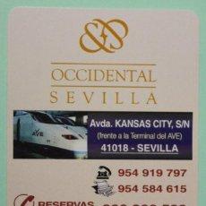 Collezionismo Calendari: CALENDARIO FOURNIER. PERFECTO. AÑO 2007. HOTEL OCCIDENTAL SEVILLA.. Lote 74427554