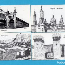 Coleccionismo Calendarios: DIEZ Y OCHO CALENDARIOS DE DIBUJOS DE ARAGON DE DIBUJANTE A PLUMILLA ALFONSO CIFUENTES BLAZQUEZ 2002. Lote 73454207