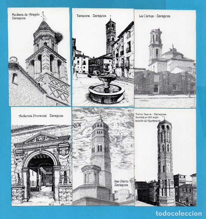 Coleccionismo Calendarios: Diez y Ocho Calendarios de Dibujos de Aragon de Dibujante a plumilla Alfonso Cifuentes Blazquez 2002 - Foto 2 - 73454207