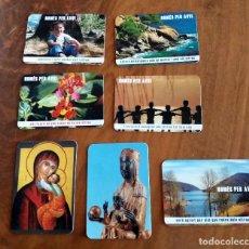 Coleccionismo Calendarios: 7 CALENDARIOS DE BOLSILLO - AÑO 2006 - CONGREGACIÓN GERMANETES DELS POBRES. Lote 73952111