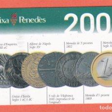 Coleccionismo Calendarios: CALENDARIO 2001 - CAIXA PENEDES (EN CATALAN). Lote 73965019
