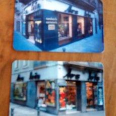 Coleccionismo Calendarios: 2 CALENDARIOS DE BOLSILLO - 2005 - ARC IRIS - BARCELONA. Lote 74198583