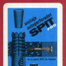 Coleccionismo Calendarios: CALENDARIO FOURNIER, PUBLICIDAD SPIT ROC , 1966 , ORIGINAL , CAL9176. Lote 74466127