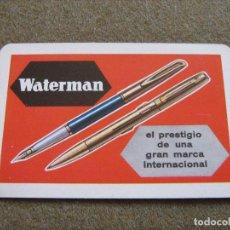 Coleccionismo Calendarios: CALENDARIO FOURNIER 1967 - WATERMAN. Lote 74793555