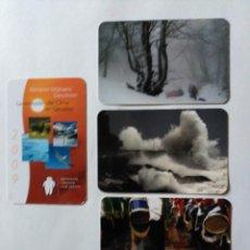 Coleccionismo Calendarios: 4 CALENDARIOS DE LA KUTXA (CAJA SAN SEBASTIAN) DE 2009. Lote 75030603