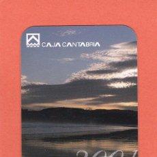 Coleccionismo Calendarios: CALENDARIO 2001 - CAJA CANTABRIA. Lote 75059315