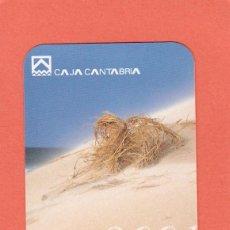Coleccionismo Calendarios: CALENDARIO 2001 - CAJA CANTABRIA. Lote 75059343