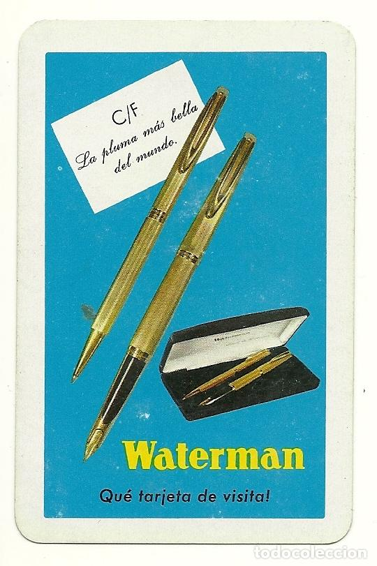 CALENDARIO FOURNIER DE WATERMAN. AÑO 1971. (Coleccionismo - Calendarios)