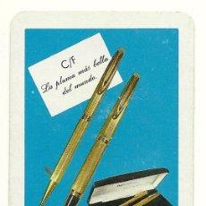 Coleccionismo Calendarios: CALENDARIO FOURNIER DE WATERMAN. AÑO 1971.. Lote 75166327