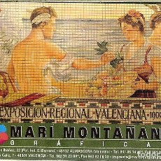 Coleccionismo Calendarios: CALENDARIO PUBLICITARIO - 2009 - GRÁFICAS MARI MONTAÑANA - ALMASSÈRA (VALENCIA). Lote 140188169