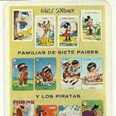Coleccionismo Calendarios: CALENDARIO FOURNIER. JUEGOS. AÑO 1965.. Lote 75266311