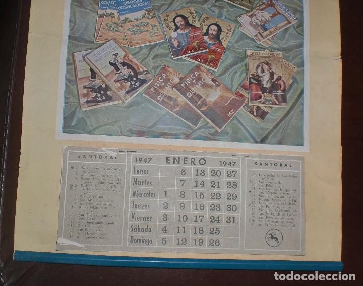 Coleccionismo Calendarios: CALENDARIO PUBLICITARIO. 1947. E. LOPEZ MEZQUIDA, VALENCIA. COMPLETO. 29 X 45CM. VER FOTOS - Foto 2 - 75678135