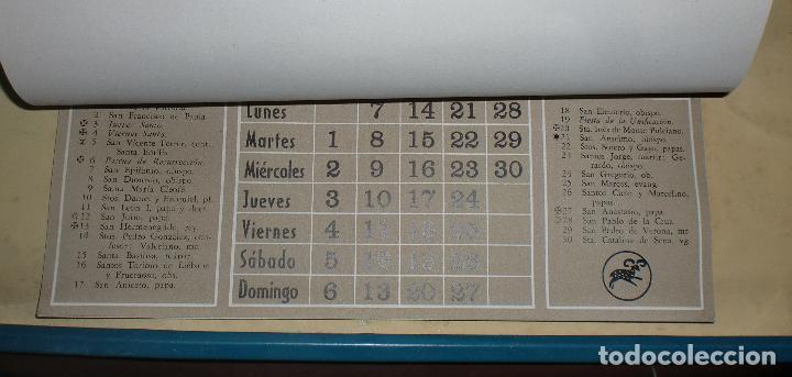 Coleccionismo Calendarios: CALENDARIO PUBLICITARIO. 1947. E. LOPEZ MEZQUIDA, VALENCIA. COMPLETO. 29 X 45CM. VER FOTOS - Foto 5 - 75678135