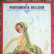 Coleccionismo Calendarios: CALENDARIO AÑO 1935 - PERFUMERIA BELLGER - ALTEA, ALICANTE - JERONIMO BELLIDO - ILUSTR.: G. CAMPS. Lote 75825942