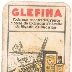 Coleccionismo Calendarios: ANTIGUO CALENDARIO GLEFINA LASA AÑO 1933. Lote 76589995