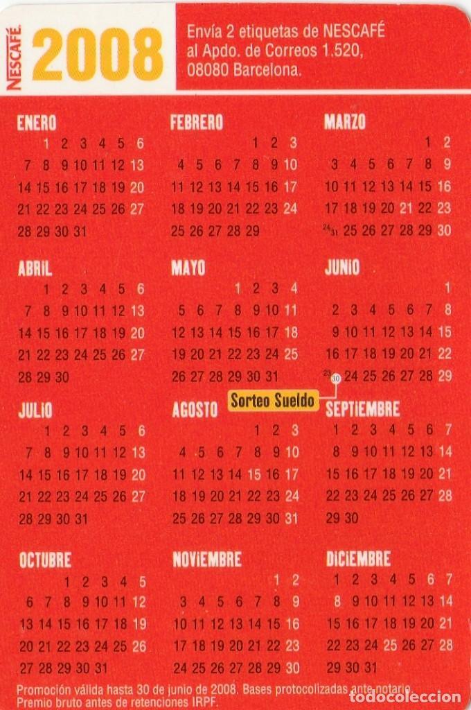 Calendario 2008.Calendario 2008 Publicidad Nescafe
