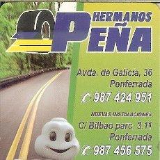 Coleccionismo Calendarios: CALENDARIO PUBLICITARIO - 2010 - MICHELIN - HNOS. PEÑA (PONFERRADA). Lote 76691747