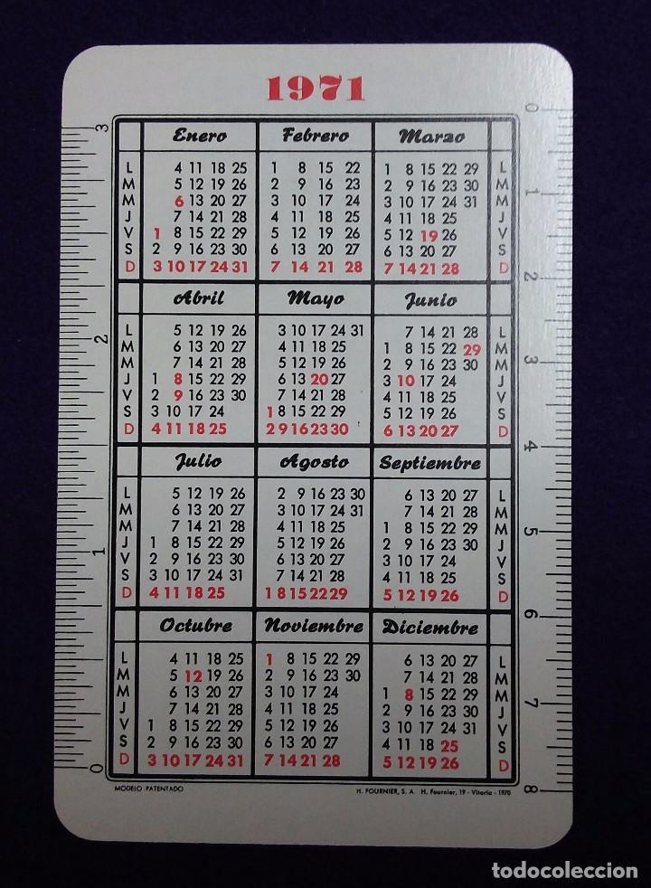 Coleccionismo Calendarios: CALENDARIO FOURNIER. BANCO DE BILBAO.1971 - Foto 2 - 76770159