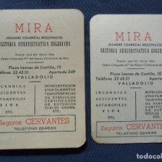 Coleccionismo Calendarios: CALENDARIOS MIRA.VALLADOLID.1969-1970.. Lote 77379069