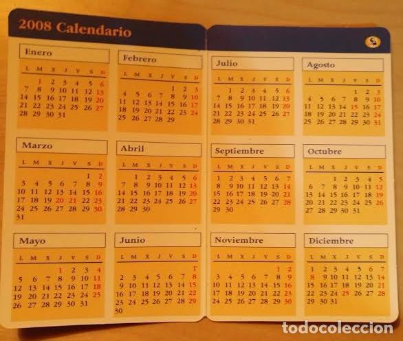 Coleccionismo Calendarios: Ca 13 Calendario 2008 - Asociación de pintores con la boca y con el pié - Foto 2 - 77548873