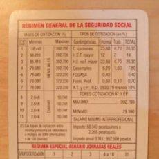 Coleccionismo Calendarios: CA 36 CALENDARIO 1998 - TESORERÍA GENERAL DE LA SEGURIDAD SOCIAL. Lote 77741641