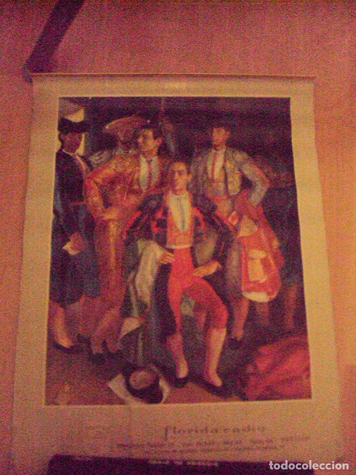 CALENDARIO PARED PHILIPS 1963. 6 LAMINAS DE CORRIDAS DE TOROS Y COSTUMBRISTAS (Coleccionismo - Calendarios)