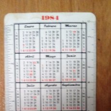 Coleccionismo Calendarios: PARDO CALENDARIO FOURNIER 1984-1985. Lote 78023249