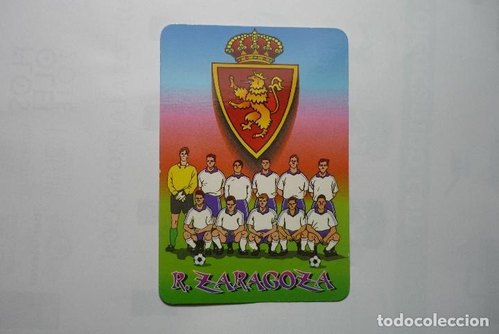 CALENDARIO 2001 FUTBOL ZARAGOZA (Coleccionismo - Calendarios)