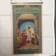 Coleccionismo Calendarios: CALENDARIO ALMANAQUE RELIGIOSO 1929 . Lote 78468329