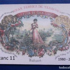 Coleccionismo Calendarios: CALENDARIO BOLSILLO TABACO 2011 (PUBLICITARIO IGUALADA) NUEVO. Lote 78656257