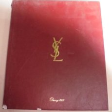 Coleccionismo Calendarios: AGENDA. 1983. PUBLICITARIO. YVES SAINT LAURENT. EN FRANCES. FOTOS DE PASARELA, MAQUILLAJE. VER. Lote 79006049
