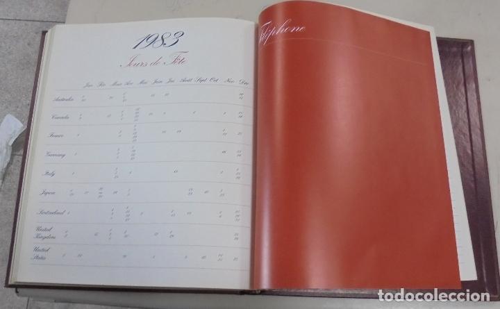 Coleccionismo Calendarios: AGENDA. 1983. PUBLICITARIO. YVES SAINT LAURENT. EN FRANCES. FOTOS DE PASARELA, MAQUILLAJE. VER - Foto 4 - 79006049