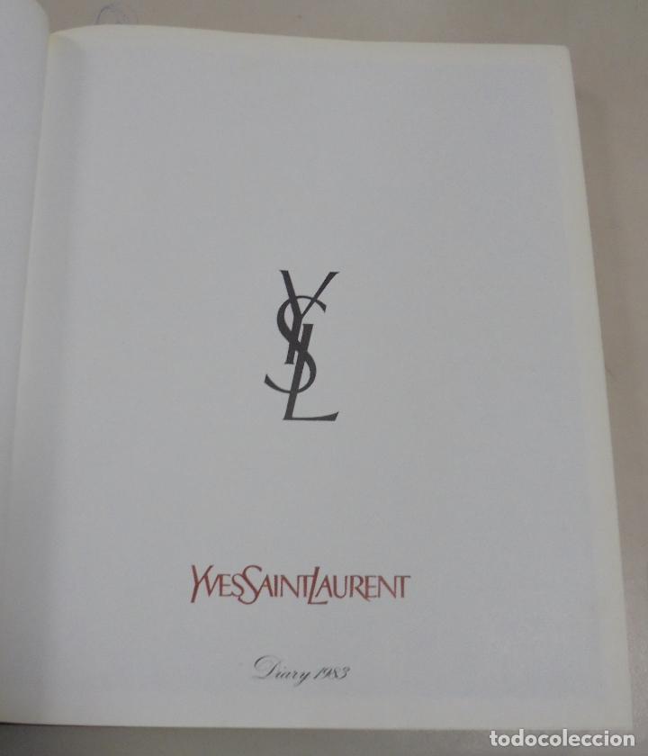 Coleccionismo Calendarios: AGENDA. 1983. PUBLICITARIO. YVES SAINT LAURENT. EN FRANCES. FOTOS DE PASARELA, MAQUILLAJE. VER - Foto 9 - 79006049