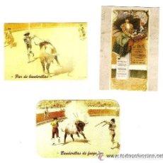 Coleccionismo Calendarios: -40463 3 CALENDARIOS DE TOROS, AÑO 2009, PRECIOSAS PINTURAS TAURINAS, EDICION PARTICULAR. Lote 79218393