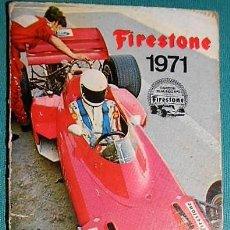 Coleccionismo Calendarios: PEQUEÑA AGENDA FIRESTONE 1971. Lote 233435480