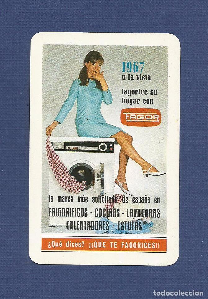 CALENDARIO DE BOLSILLO FOURNIER AÑO 1967 - FAGOR (ELECTRODOMESTICOS) (Coleccionismo - Calendarios)