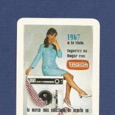 Coleccionismo Calendarios: CALENDARIO DE BOLSILLO FOURNIER AÑO 1967 - FAGOR (ELECTRODOMESTICOS). Lote 79668813