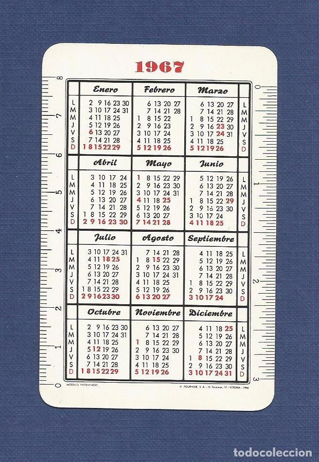 Coleccionismo Calendarios: CALENDARIO DE BOLSILLO FOURNIER AÑO 1967 - FAGOR (ELECTRODOMESTICOS) - Foto 2 - 79668813