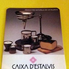 Coleccionismo Calendarios: CALENDARIO - CAIXA DÈSTALVIS DE CATALUNYA AÑO 1981. Lote 79923925