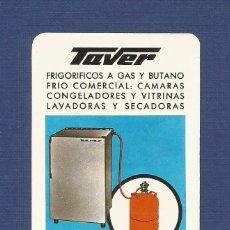 Coleccionismo Calendarios: CALENDARIO DE BOLSILLO FOURNIER AÑO 1967 - TAVER (ELECTRODOMESTICOS). Lote 80245361