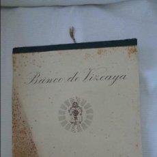 Coleccionismo Calendarios: CALENDARIO BANCO DE VIZCAYA GRABADOS DE ZULOAGA EL MOZO , AÑO 1947 -- TIENE 6 GRABADOS. Lote 80478113