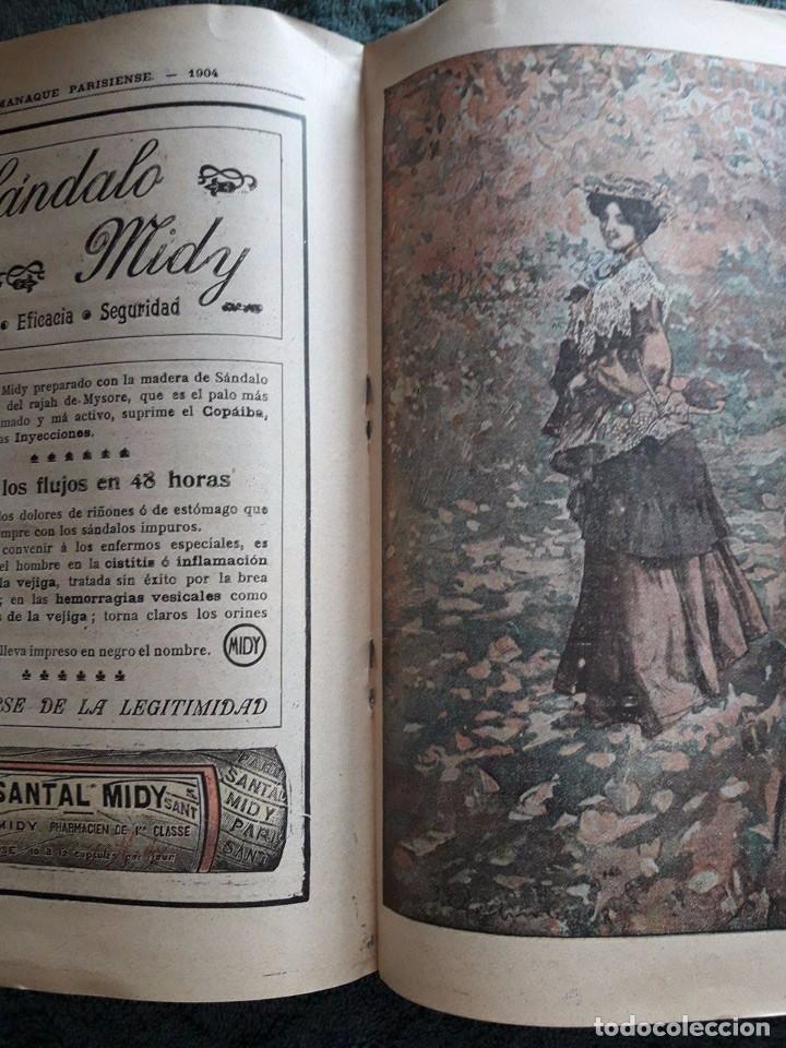Coleccionismo Calendarios: ALMANAQUE PARISIENSE 1904 / OFRECIDO POR LA CASA GRIMAULT Y Cia / VIAL, SUCC, 8 RUE VIVIENNE / PARIS - Foto 3 - 80546646