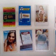 Coleccionismo Calendarios: LOTE DE 10 CALENDARIOS FOURNIER AÑOS 70 . Lote 80840199