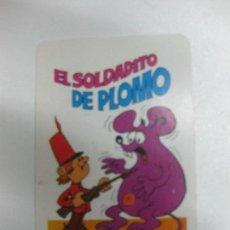 Coleccionismo Calendarios: CALENDARIO DE BOLSILLO 1972. NAIPES COMAS. EL SOLDADITO DE PLOMO.. Lote 81000576
