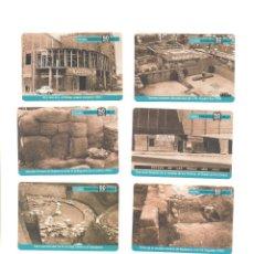 Coleccionismo Calendarios: LOTE 6 CALENDARIOS MUSEO BADALONA 2005. Lote 81162492